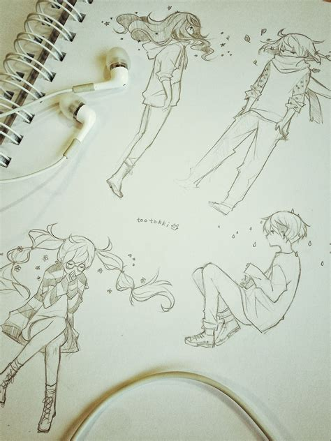 Inspect Sketches B And D by Tootokki Is A Really Awesome Artist Check Out In
