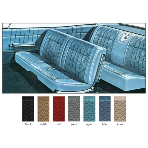 Classic Car Upholstery Kits by 1965 Impala Parts Interior Soft Goods Seat Upholstery