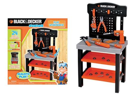 black and decker work bench kids 21 24 reg 45 black decker kid s play workbench