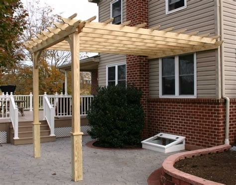 wall mounted pergola designs pergola gazebo ideas