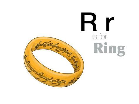 I Ring Keropy 1 r is for ring