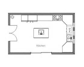 Kitchen Floor Plans Islands by Open Kitchen Floor Plans With Islands Home Constructions