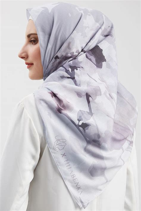 Shaima Voal Scarf By Heaven Lights sell shazfa voal square square hijabenka