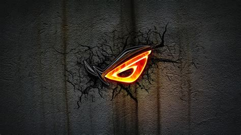 asus wallpaper orange republic of gamers wallpapers wallpaper cave