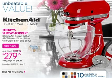 Daftar Mixer Kitchenaid store the official hsn website cm4