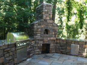 Prefabricated Outdoor Fireplace - outdoor kitchen designs for portland oregon landscaping