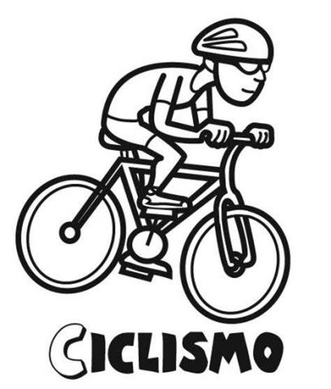 imagenes de bicicletas faciles para dibujar dibujos infantiles de ciclismo para colorear con los ni 241 os