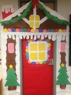 gingrbread house on school door 1000 images about door on gingerbread houses door decorating contest and