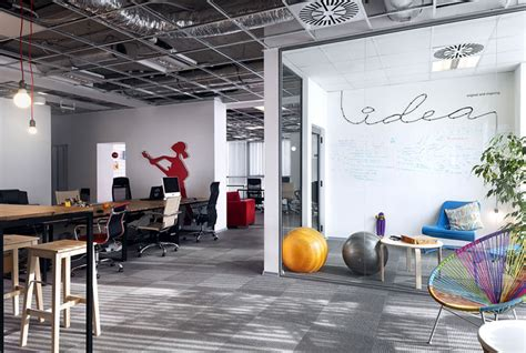 advertising agency office  cache atelier interiorzine