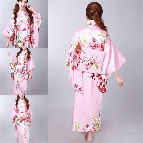 Dress Obi 2in1 Flower beautiful colourful japanese yukata robe kimono obi geisha kimono dress 6936006500203 ebay