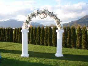 wedding arches photos simple guide to wedding arch rental services equipment rental