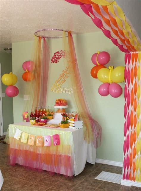 how to decorate with streamers butterfly themed archway streamers decoration for