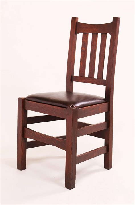 Stickley Dining Chairs 6 Stickley Brothers 479 1 2 Dining Chairs California Historical Design