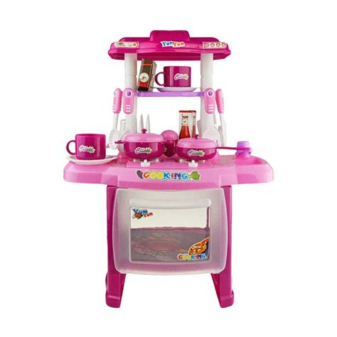 jual best kitchen set koper mainan masak masakan anak