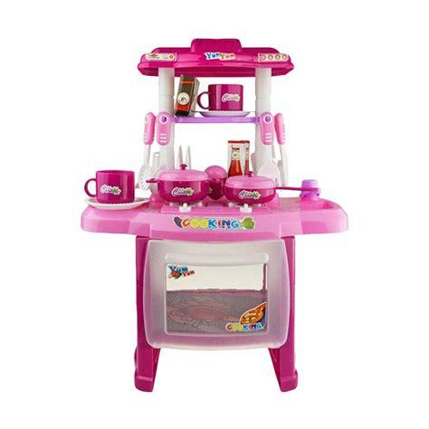 Mainan Masak Masakan Kitchen Dishware Set jual best kitchen set koper mainan masak masakan anak