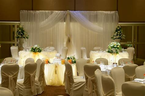 Decoration Reception by Wedding Reception Decorations Ideas