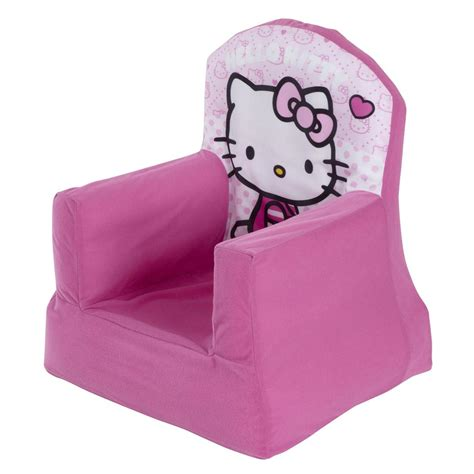 hello kitty kids couch hello kitty cosy chair brand new girls kids furniture ebay