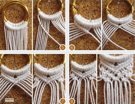 DIY Two Ring Closure Macrame Belt