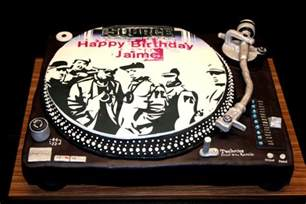90 s hip hop party turntable cake cakecentral com