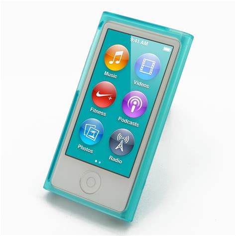 Tunewear Softshell For Ipod Nano 7th And 8th Generation Free Tunefil ipod nano 8th nano 7th soft gel plastic cover aqua pdair