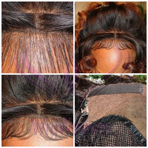 kinky weave to hide bald edges in front how to conceal your closure edges custom lace front