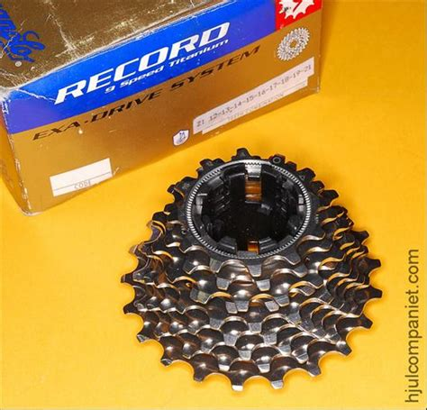cag 11 speed cassette velobase component cagnolo record titanium exa
