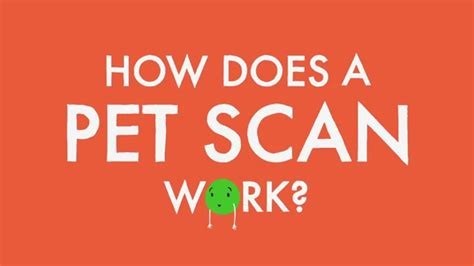 Does A by How Does A Pet Scan Work
