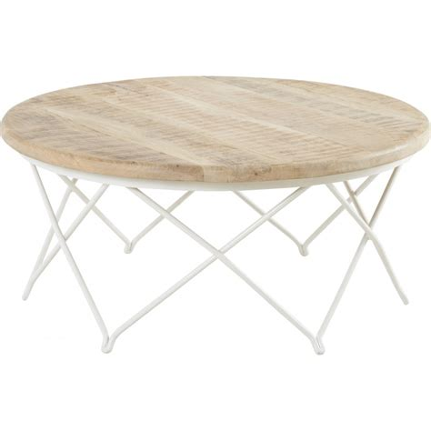 Table Basse Ronde Blanc Laqué 1555 by Table Basse Ronde Blanc Maison Design Wiblia