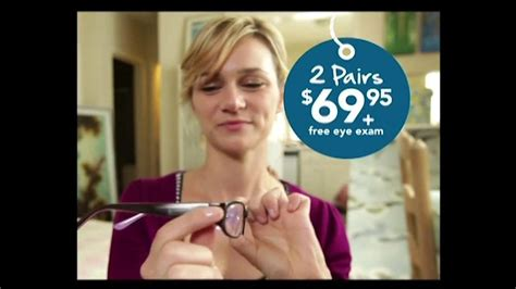 americas best eyeglasses commercial girl americas best eyeglasses actress newhairstylesformen2014 com
