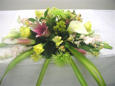table floral arrangements wedding head table floral arrangement california flower