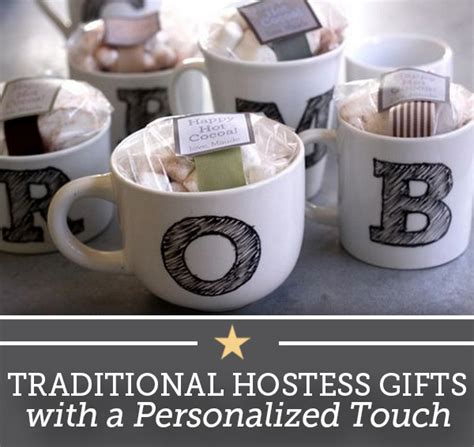 unique hostess gifts traditional hostess gifts with a personalized touch