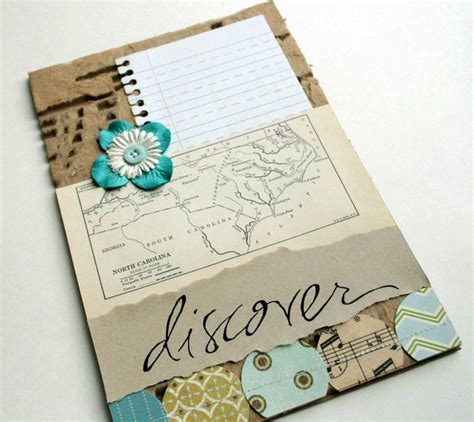 Handmade Journal Ideas - 98 best images about project smash on