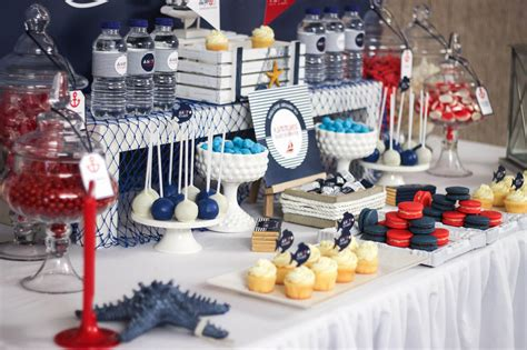 Nautical Theme Baby Shower Decorations by Ahoy Nautical Baby Shower Baby Shower Ideas Themes
