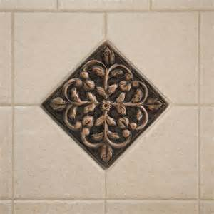 flower wall tiles solid copper wall tile with dogwood flower design kitchen