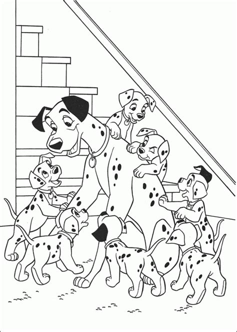 101 dalmatians coloring pages 101 dalmatians coloring pages on coloringpagesabc