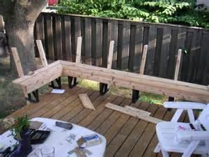 Corner Deck Bench Wopa January 2015