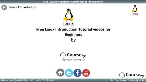 linux tutorial ppt ppt linux introduction training powerpoint presentation