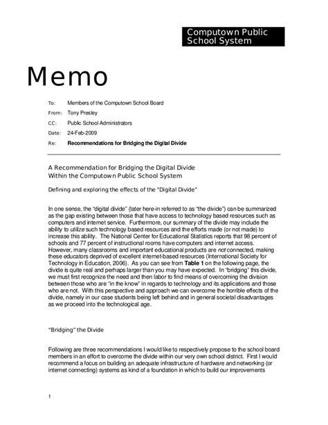memo format templates sle memorandum
