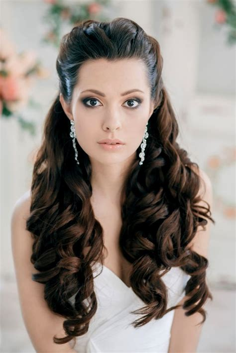 bridal hairstyles loose curls wedding hairstyles down loose curls hairstyles ideas