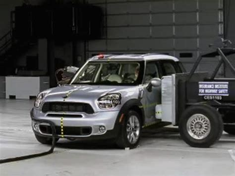 mini crash test mini cooper countryman 2011 2014 road test