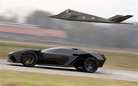 Lamborghini F 117 by Stealth Car F 117 Nighthawk Lamborghini Ankonian