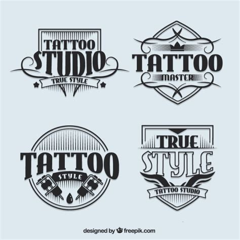 tattoo shop names ideas generator logotypes studio de tatouage dans le style vintage