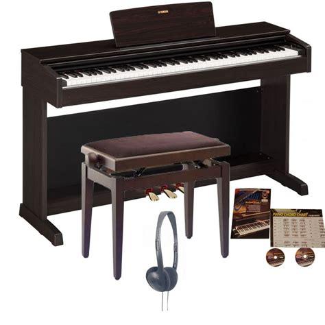 Digital Piano Yamaha Arius yamaha ydp 143 arius digitalpiano rosewood bundle from