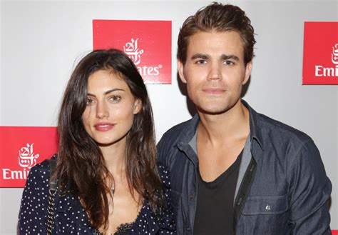 paul wesley amp phoebe tonkin post adorable photos of each other