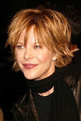 meg ryans sally shag haircut meg ryan haircut photos styling tips more