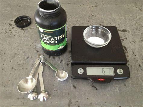 creatine 1 teaspoon creatine serving size is inaccurate 1 teaspoon 4