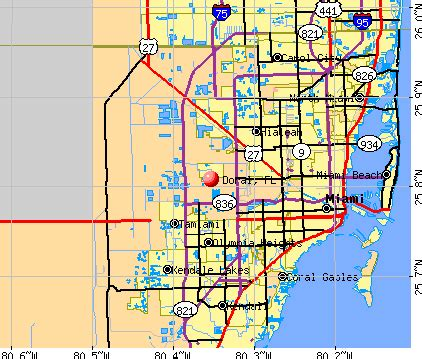 doral florida map doral florida fl profile population maps real estate