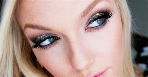 new year makeup makeup by alli quot smoky sparkle quot new year s makeup