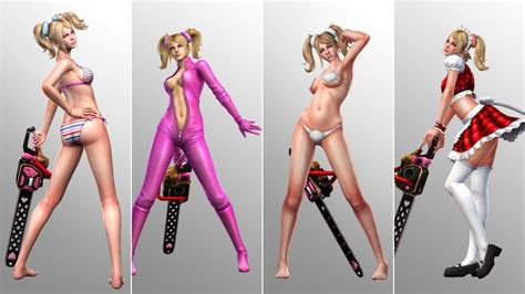 hi cortana do you wear panties lollipop chainsaw reveals skimpy outfits kotaku australia