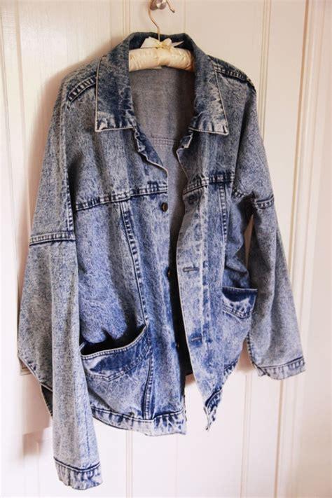 Acid Jaket oversized acid wash denim jacket denim jackets jackets and denim jackets